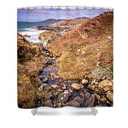 Seaward Shower Curtain