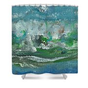 Seawaves Shower Curtain