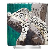 Secluded Grace Shower Curtain