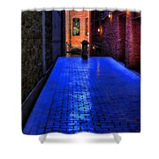 Secluded Patio Shower Curtain
