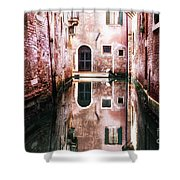 Secluded Venice Shower Curtain