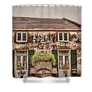 Second Story Cottage Shower Curtain