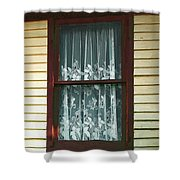 Second Story Sunset Shower Curtain