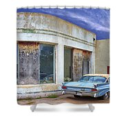 Second Wind Shower Curtain