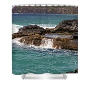 Secret Beach Shower Curtain