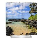 Secret Beach Shower Curtain