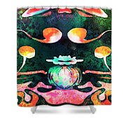 Secret Garden.. Shower Curtain