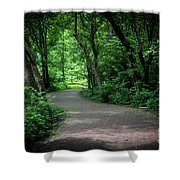 Secret Path Shower Curtain