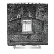 Secret Window Shower Curtain