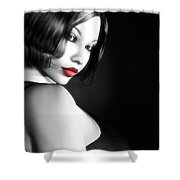 Secretive Desire Shower Curtain