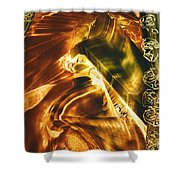 Secrets Of Mountains Shower Curtain