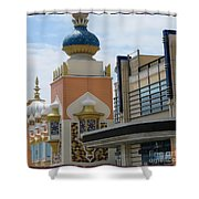 Sectional View Tajmahal Hotel Atalantic Beaches And Board Walk America Photography By Navinjoshi At  Shower Curtain