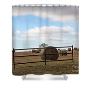 Secure Fence Shower Curtain