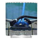 Secure In Port Shower Curtain