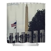 Securing Freedom Shower Curtain