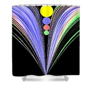 Security Shower Curtain by Will Borden