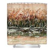 Sedge Shower Curtain