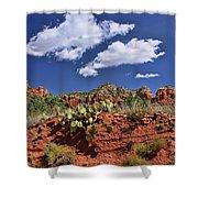 Sedona # 16 - Red Rocks Shower Curtain