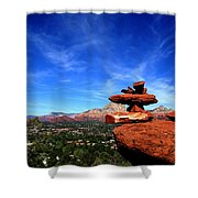 Sedona Airport Vortex Shower Curtain