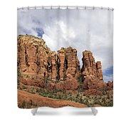 Sedona Arizona Red Rocks Shower Curtain