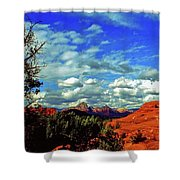 Sedona Capitol Butte Shower Curtain