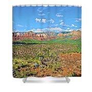 Sedona Landscape2 Shower Curtain