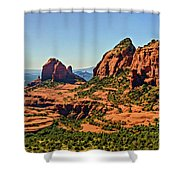 Sedona Misc 05-281p Shower Curtain