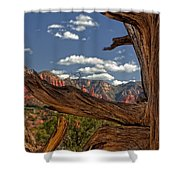 Sedona Mountains Arizona Shower Curtain