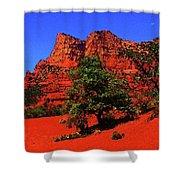 Sedona Red Rock Shower Curtain