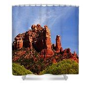 Sedona Rocks Shower Curtain