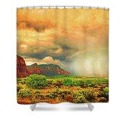 Sedona Storm, Sedona, Arizona Shower Curtain