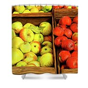 See Canyon Apples Shower Curtain