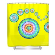 See Everything II Shower Curtain