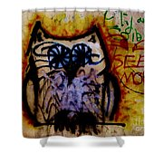 See More Shower Curtain