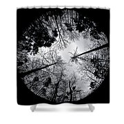See Of Darkness Shower Curtain