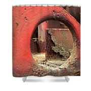 See The Rust Shower Curtain