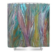 See The Woods For The Trees Shower Curtain