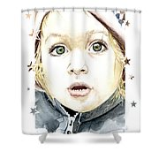 See The World Through My Eyes  Shower Curtain