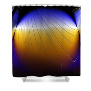 See Thru Shapes Shower Curtain