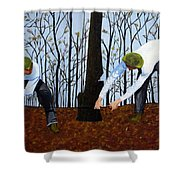 See What I Saw - 2d Shower Curtain