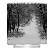 See Where It Leads. Shower Curtain