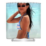 See You A S A P Shower Curtain