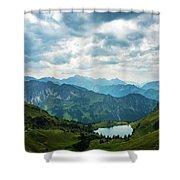 Seealpsee Shower Curtain
