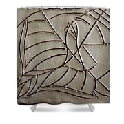 Seed - Tile Shower Curtain