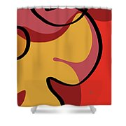 Seed Culture - Hibiscus Shower Curtain