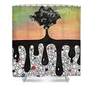 Seeding Shower Curtain