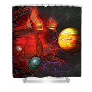 Seeds Of The Universe Shower Curtain
