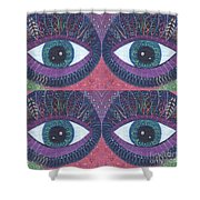 Seeing Double - Tjod 38 Compilation Shower Curtain