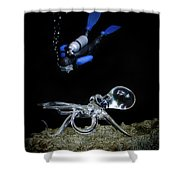 Seeing Eye To Eye Shower Curtain