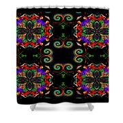 Seeing In Abstraction Shower Curtain